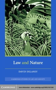 Law and Nature ebook by Delaney, David