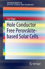 Hole Conductor Free Perovskite-based Solar Cells ebook by Lioz Etgar