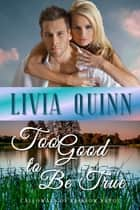 Too Good to Be True - A small town romance and suspense ebook by Livia Quinn