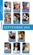 11 romans Azur + 1 gratuit (n°3993 à 4003 - Septembre 2018) ebook by