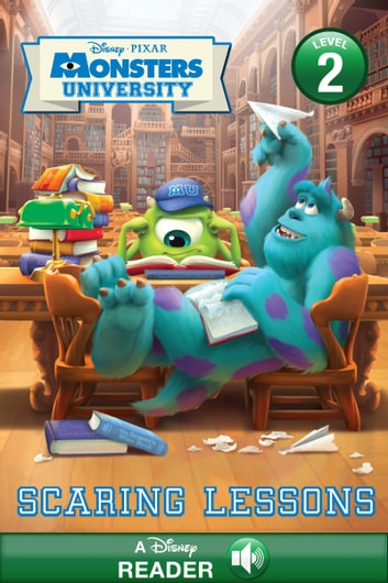 Monsters University: Scaring Lessons - A Disney Read Along ebook by Susan Amerikaner,Disney Books