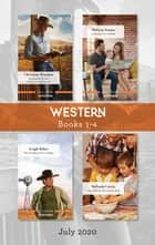 Western Box Set 1-4 July 2020/In Search of the Long-Lost Maverick/A Family for a Week/The Cowboy's Secret Baby/Charmed by the Cook's Kids ebook by Leigh Riker, Christine Rimmer, Melinda Curtis,...