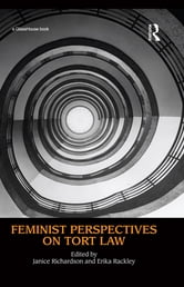 Feminist Perspectives on Tort Law ebook by
