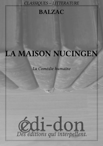 La maison Nucingen ebook by Balzac