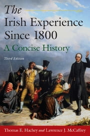 The Irish Experience Since 1800: A Concise History - A Concise History ebook by Thomas E. Hachey,Lawrence J. McCaffrey