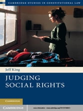 Judging Social Rights ebook by Dr Jeff King
