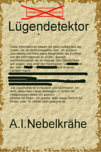 Lügendetektor ebook by A.I. Nebelkrähe