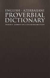 English azerbaijani proverbial dictionary ebook by iraj ismaely book cover fandeluxe Image collections