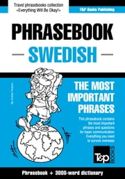 English-Swedish phrasebook and 3000-word topical vocabulary ebook by Andrey Taranov