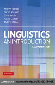 Linguistics ebook by Radford,Andrew