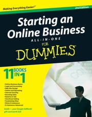 Starting an Online Business All-in-One Desk Reference For Dummies ebook by Shannon Belew,Joel Elad