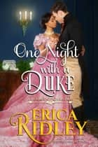 One Night with a Duke - A Regency Christmas Romance ebook by