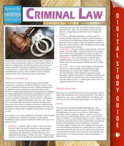 Criminal Law (Speedy Study Guides) ebook by Speedy Publishing