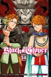 Black Clover, Vol. 14 - Gold and Black Sparks ebook by Yūki Tabata