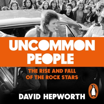 Uncommon People - The Rise and Fall of the Rock Stars 1955-1994 audiobook by David Hepworth