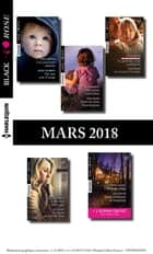 10 romans Black Rose + 1 gratuit (nº467 à 471 - Mars 2018) ebook by Collectif