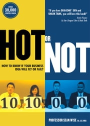 Hot or Not - How to Know if Your Business Idea Will Fly or Fail ebook by Sean Wise