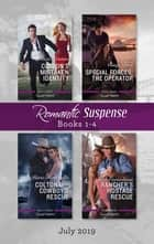Colton's Mistaken Identity/Special Forces - The Operator/Colton 911: Cowboy's Rescue/Rancher's Hostage Rescue ekitaplar by Marie Ferrarella, Cindy Dees, Beth Cornelison,...