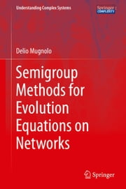 Semigroup Methods for Evolution Equations on Networks ebook by Delio Mugnolo