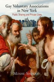 Gay Voluntary Associations in New York - Public Sharing and Private Lives ebook by Moshe Shokeid