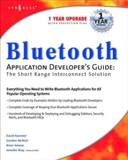 Bluetooth Application Developer's Guide ebook by Syngress