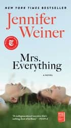Mrs. Everything - A Novel ebook by Jennifer Weiner