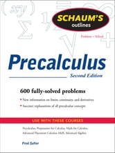 Schaums Outline of Precalculus 2/E (ENHANCED EBOOK) ebook by Fred Safier