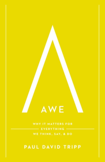 Awe - Why It Matters for Everything We Think, Say, and Do ebook by Paul David Tripp