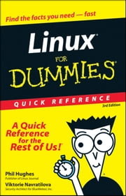 Linux For Dummies Quick Reference ebook by Phil Hughes,Viktorie Navratilova