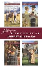 Love Inspired Historical January 2018 Box Set ebook by Linda Ford, Lisa Bingham, Evelyn M. Hill,...