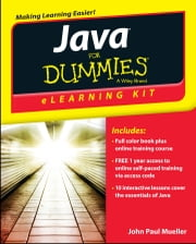 Java eLearning Kit For Dummies ebook by John Paul Mueller