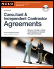 Consultant & Independent Contractor Agreements ebook by Stephen Fishman