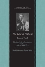 The Law of Nations ebook by Emer de Vattel