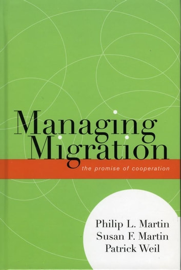 Managing Migration - The Promise of Cooperation ebook by Susan F. Martin,Philip L. Martin,Patrick Weil