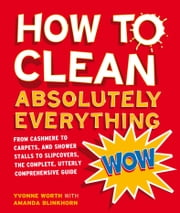 How to Clean Absolutely Everything: From cashmere to carpets, and shower stalls to slipcovers, the complete, utterly comprehensive guide ebook by Yvonne Worth,Amanda Blinkhorn