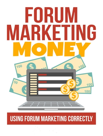 Forum Marketing Money ebook by VT