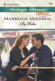Marriage Material ebook by Ally Blake