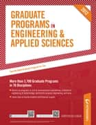 Peterson's Graduate Programs in Engineering & Applied Sciences 2012 ebook by Peterson's