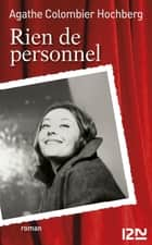 Rien de personnel ebook by Agathe COLOMBIER HOCHBERG