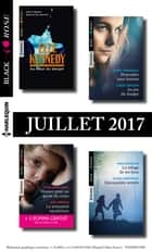 9 romans Black Rose + 1 gratuit (n°436 à 439 - Juillet 2017) ebook by Collectif