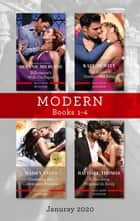 Modern Box Set 1-4 Jan 2020/Billionaire's Wife on Paper/The Italian's Unexpected Baby/Crowning His Convenient Princess/A Shocking Proposal in ebook by