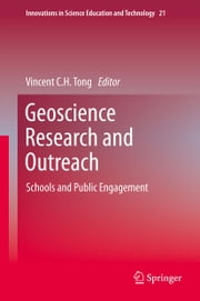 Geoscience Research and Outreach - Schools and Public Engagement ebook by