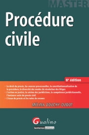 Procédure civile - 6e édition ebook by Douchy-Oudot Mélina