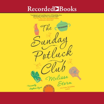 The Sunday Potluck Club audiobook by Melissa Storm