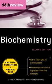 Deja Review Biochemistry, Second Edition ebook by Saad Manzoul,Hussan Mohammed