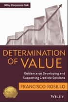 Determination of Value ebook by Frank Rosillo