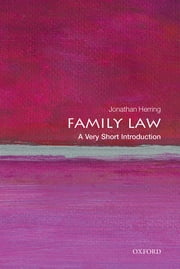 Family Law: A Very Short Introduction ebook by Jonathan Herring
