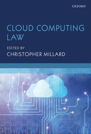Cloud Computing Law ebook by Christopher Millard