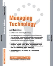 Technology Management: Operations 06.08 ebook by Zuckerman, Amy