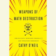 Weapons of Math Destruction - How Big Data Increases Inequality and Threatens Democracy audiobook by Cathy O'Neil